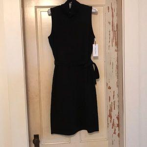 Calvin Klein sleeveless knit turtleneck dress